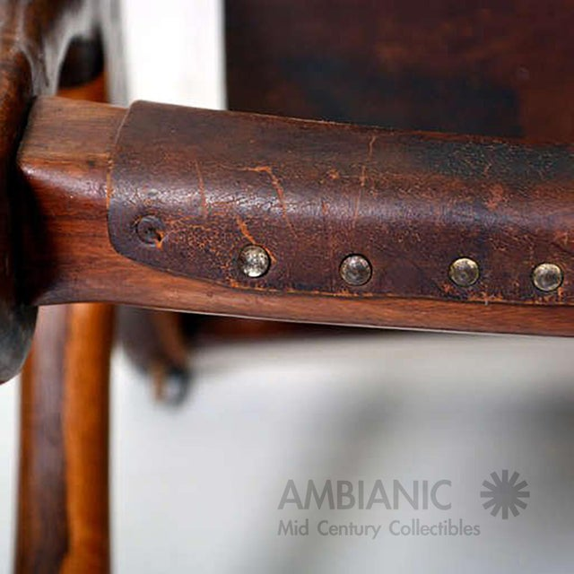 Sling Chair Attributed to Don Shoemaker For Sale - Image 9 of 11
