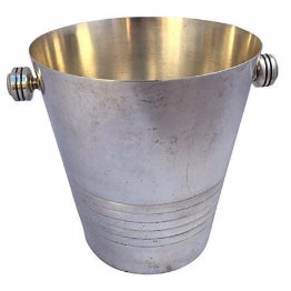French Silver Plate Champagne Bucket - Image 1 of 6