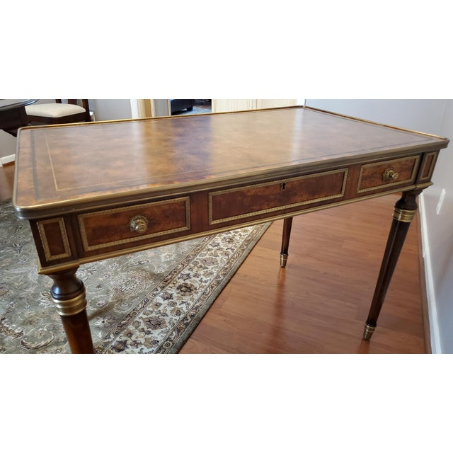 """Theodore Alexander Theodore Alexander """"Tales From France Writing Desk"""" For Sale - Image 4 of 13"""
