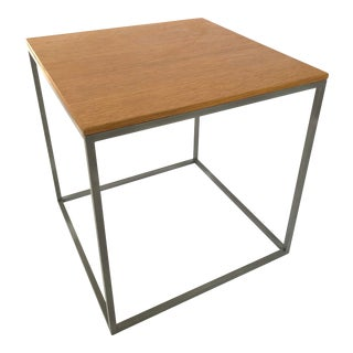 Poul Kjaerholm-Style Mid-Century Modern Side Table. For Sale