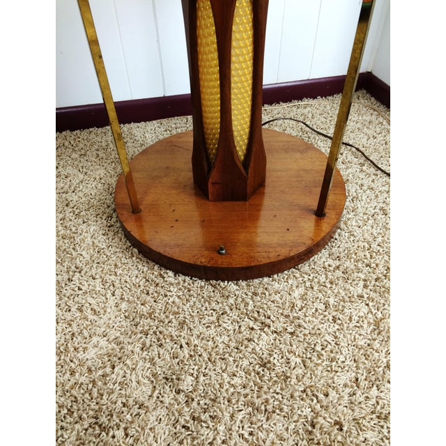 Mid-Century Wood and Glass Coffee & Lighted Side Table 3 Pc Set For Sale - Image 11 of 11