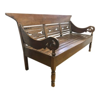 19th Century Anglo Indian Daybed/Settee For Sale