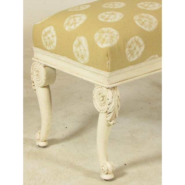 19th C. French Painted Bench - Image 4 of 11