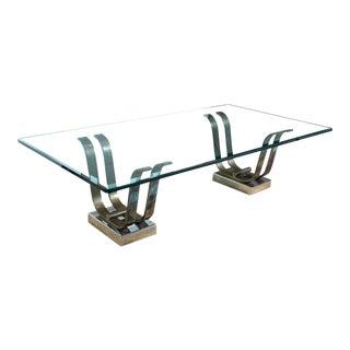 Karl Springer Art Moderne 'Tulip' Cocktail Table For Sale