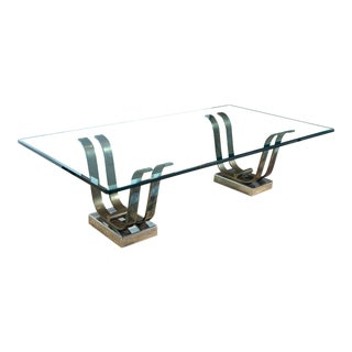 Karl Springer 'Tulip' Cocktail Table, in Art Deco Style For Sale