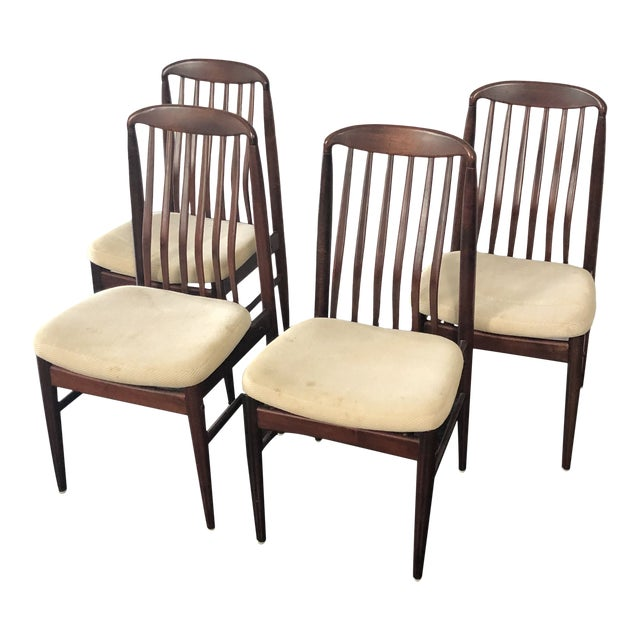 1970s Benny Linden Rosewood Dining Chairs - Set of 4 For Sale
