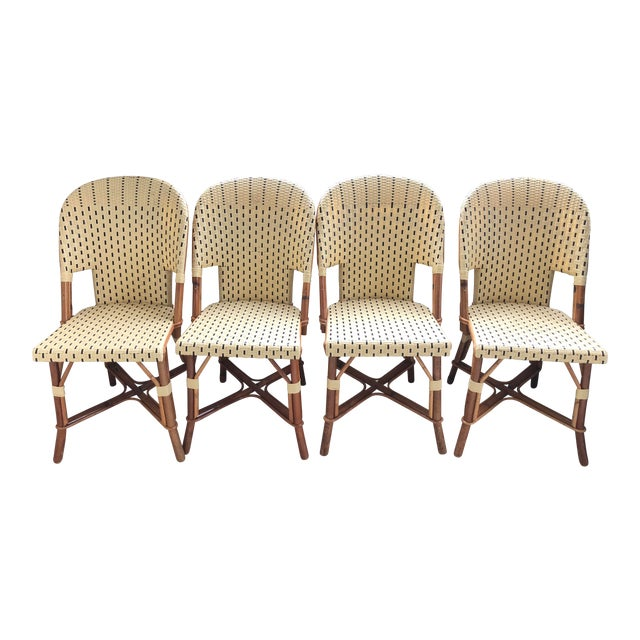 French Bistro Chairs And Table Set Chairish