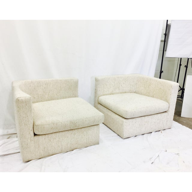 Vintage Mid-Century Modern Milo Baughman Arm Chairs - A Pair - Image 10 of 10