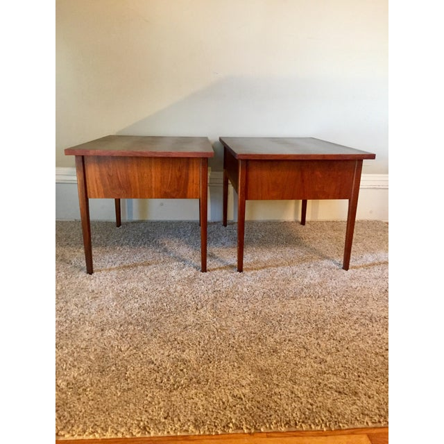 Wood Jack Cartwright End Tables for Founders - A Pair For Sale - Image 7 of 11
