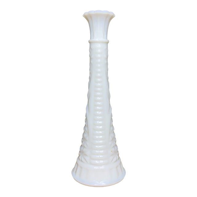 Hobnail Milk Glass Bud Vase For Sale