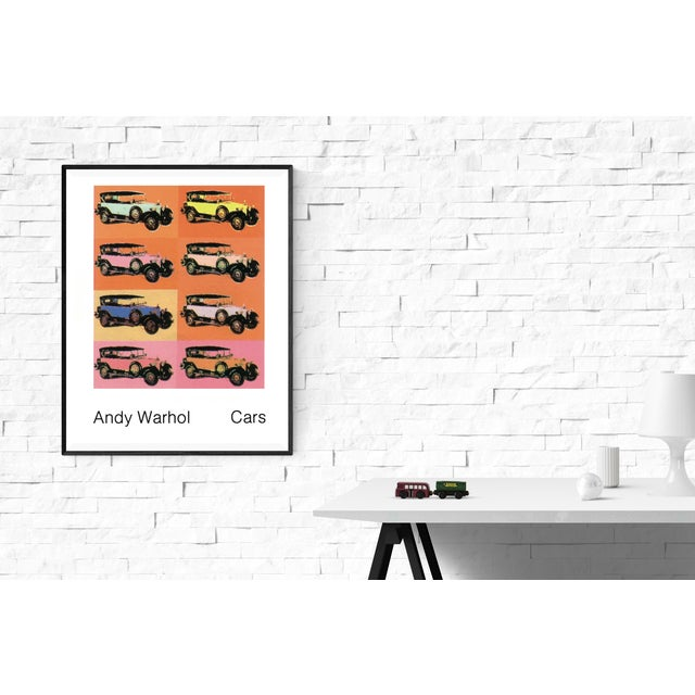 Pop Art Andy Warhol-Mercedes Typ 400 (1925)-1989 Poster For Sale - Image 3 of 3