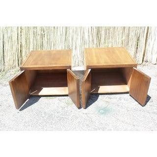 1970s Vintage Brutalist End Tables- A Pair Preview
