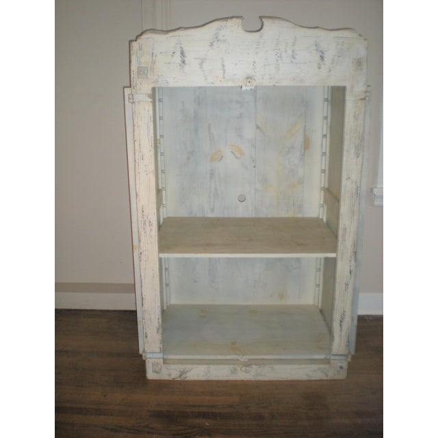 French Country Armoire Cast Iron Stand For Sale - Image 4 of 7