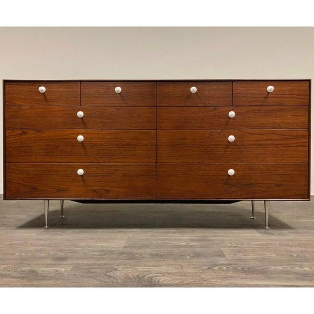 George Nelson for Herman Miller Thin Edge Teak Dresser For Sale - Image 12 of 12