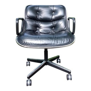 1980s Vintage Knoll International Pollock Executive Chair For Sale
