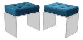 Image of Velvet Benches