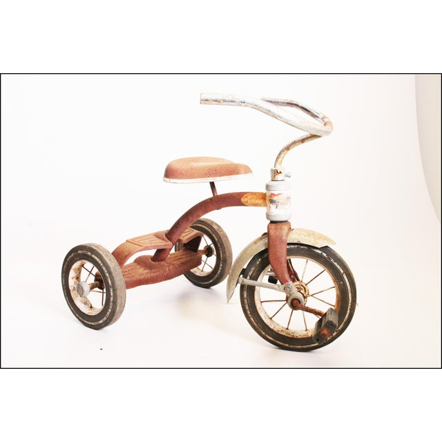 Vintage Rustic Metal Child's Tricycle - Image 2 of 11