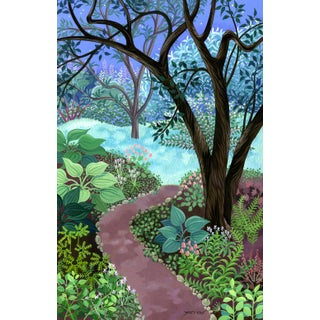 """""""Half Light"""" Contemporary Landscape Giclee Reproduction Print by Wynn Yarrow For Sale"""