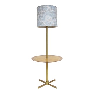 Rare Edward Wormley lamp table by Dunbar For Sale