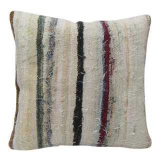 Striped Turkish Throw Pillow For Sale