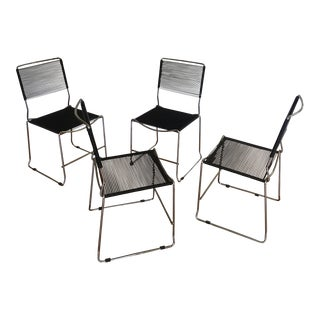 1980s Vintage Giandomenico Belotti for Alias Spaghetti Chairs - Set of 4 For Sale