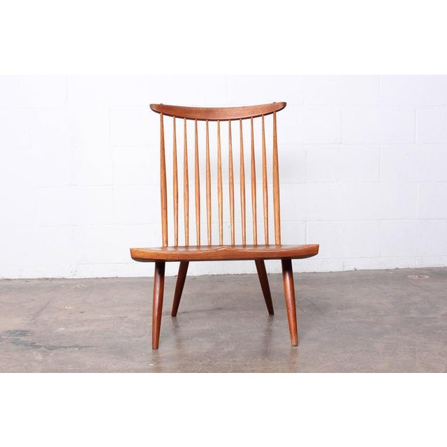 Mid-Century Modern Lounge Chair by George Nakashima For Sale - Image 3 of 10