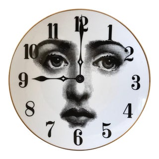 Fornasetti Clock Plate For Sale