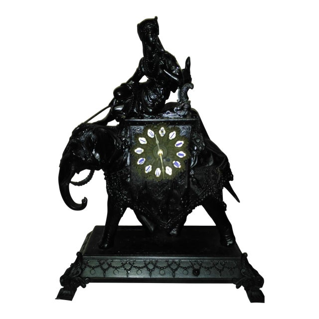 Egyptian Revival Mantel Clock - Image 1 of 11