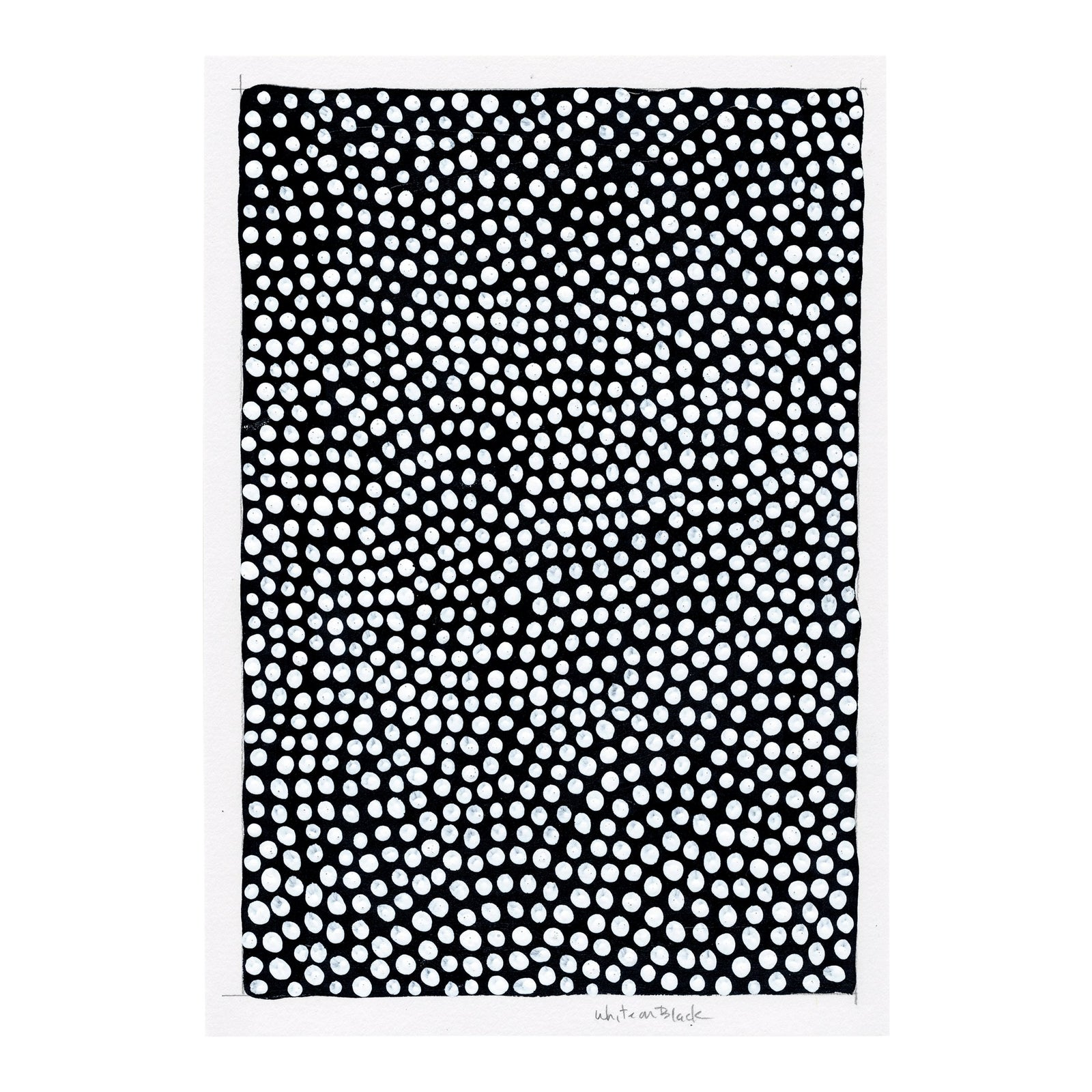 Modern contemporary black and white pattern painting chairish
