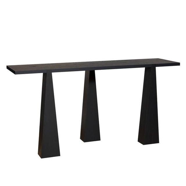 Nylander Solid Oak Console Table - Image 3 of 4