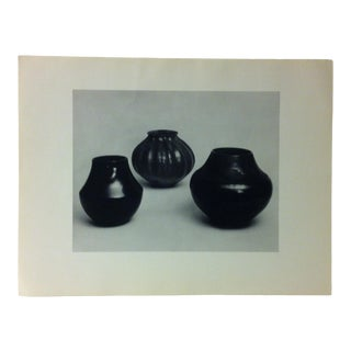 """Circa 1950 """"Pueblo of San Ildefonso Pottery"""" Indian Arts Fund Collection Print For Sale"""