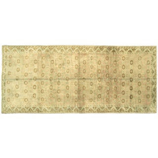 "Nalbandian - 1960s Turkish Oushak Carpet - 5'1"" X 11'10"" For Sale"
