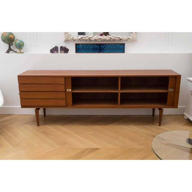 Henry Walter Klein H. W. Klein for Bramin Danish Modern Credenza For Sale - Image 4 of 10