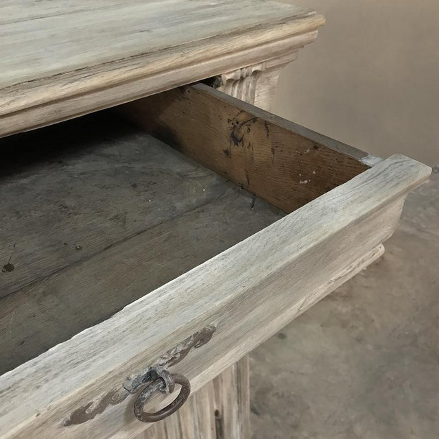 Early 18th Century Country French Whitewashed Buffet For Sale In Dallas - Image 6 of 13