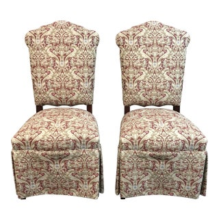 Century Furniture Hostess Chairs, a Pair For Sale
