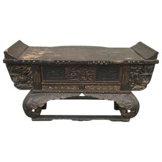 19th Century Japanese Alter Table Console For Sale