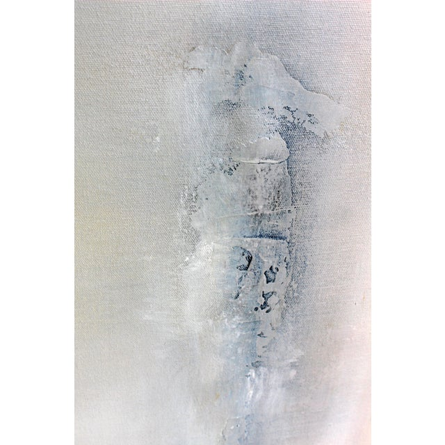 """""""Drifted"""" Modern Textured Abstract Painting - Image 3 of 6"""