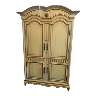 Vintage Karges Venetian Armoire For Sale