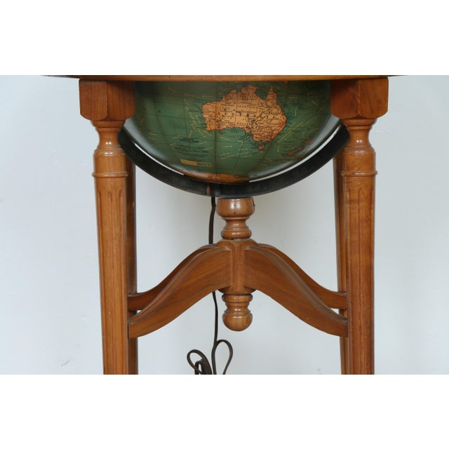 1940's Globe and Stand - Image 5 of 7
