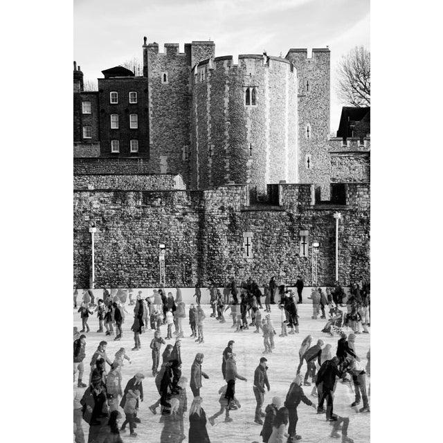 """""""Tower of London Ice Rink"""" Framed Print - Image 3 of 3"""
