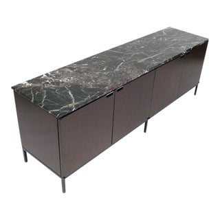 Florence Knoll Italian Marble Credenza For Sale