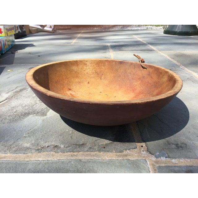 Antique Primitive Dough Bowl - Image 2 of 5