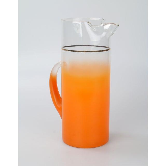 Orange Ombré Pitcher - Image 6 of 6