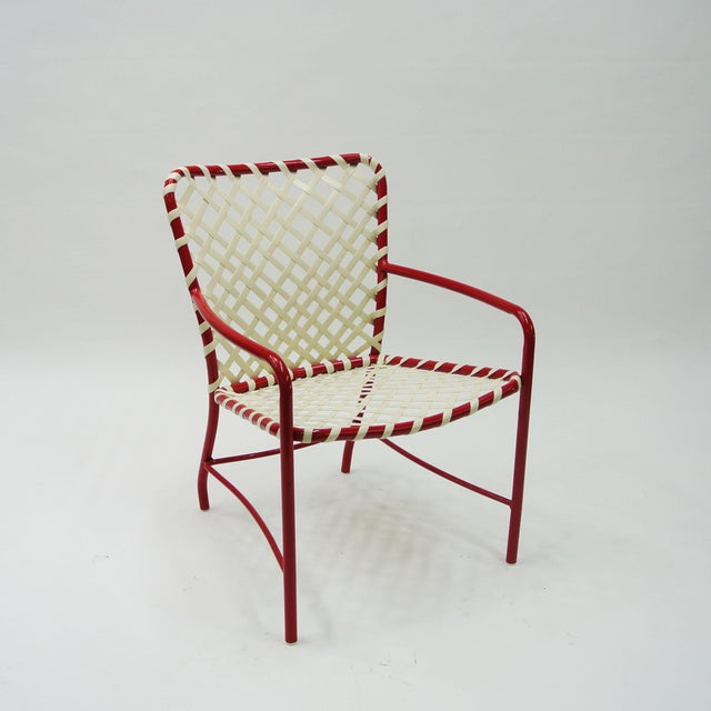 Mid-Century Modern Brown Jordan Tamiami Single Dining Chair For Sale - Image 3 of 3