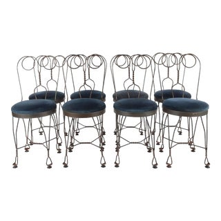 Fer Forgé Butterfly Dining Chairs For Sale