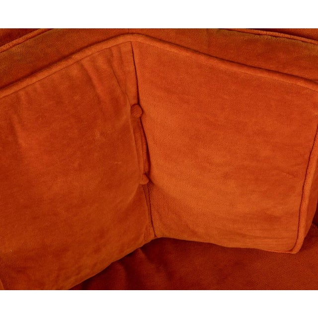 Mid-Century Modern Pair of Mid Century Modern Swivel Lounge Chairs For Sale - Image 3 of 5