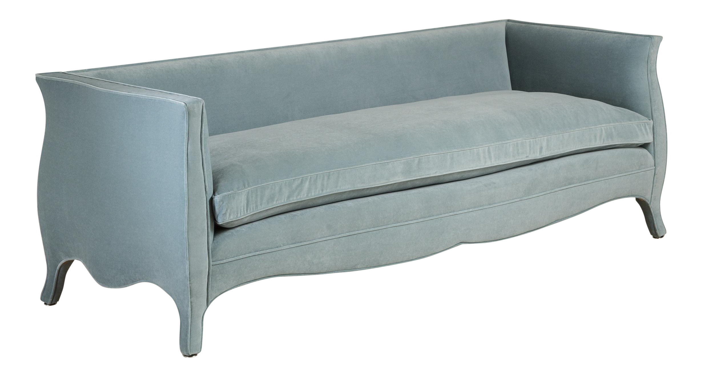 Customizable A Standard High Back, French Style Sofa By Talisman Bespoke  For Sale