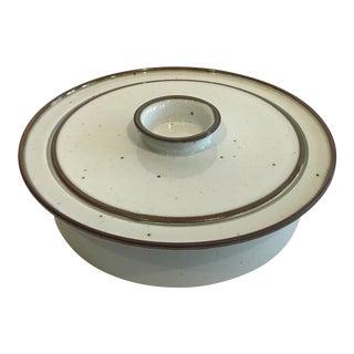 Large Dansk Porcelain Casserole Bowl With Lid For Sale