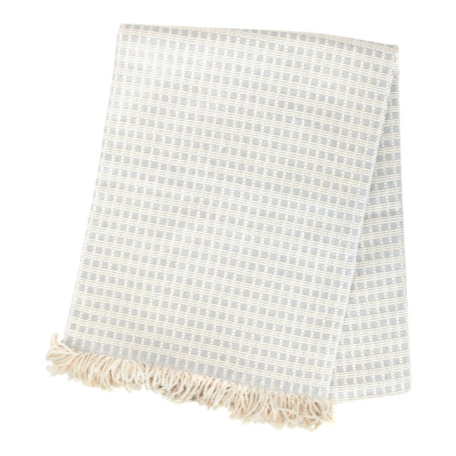 Structured Cotton Throw | Pointell For Sale