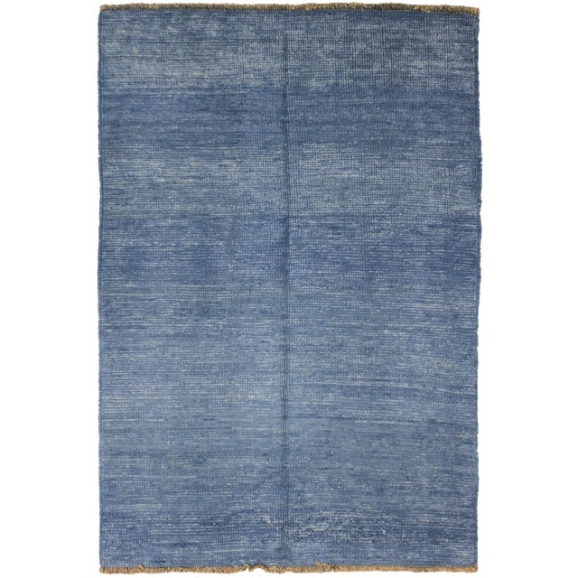 "Aara Rugs Inc. Hand Knotted Gabbeh Rug - 7'7"" x 5'1"" - Image 1 of 2"